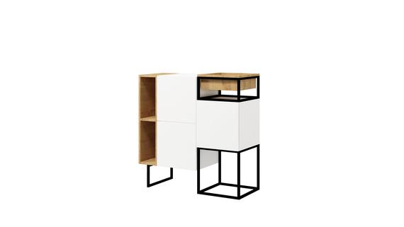 Commode box avec rangement - Box Steel A (1)