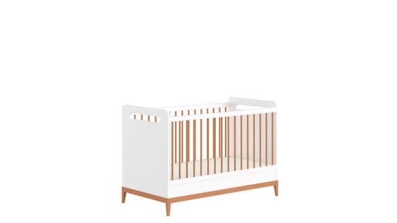 Lit bébé blanc Beta (1)