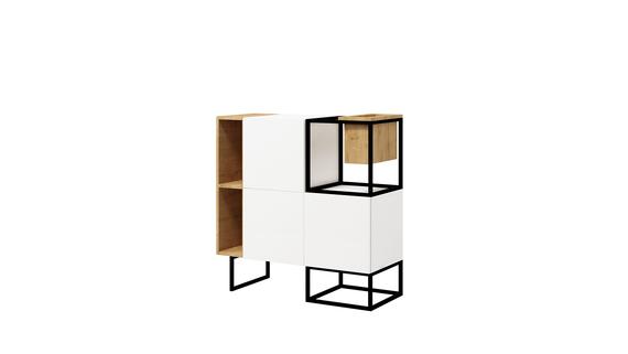 Commode box avec rangement - Box Steel B (1)