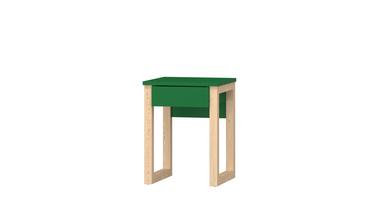 Table de chevet en bois avec tiroir Lucia C