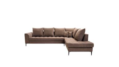 Canapé d'angle stylé dans un style moderne pour le salon Amalia