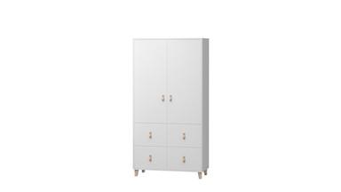 Armoire Flavio avec tiroirs pour chambre d'enfant