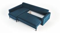 canapé d'angle avec rangement