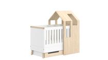 Lit bébé cabane en bois Alice Home