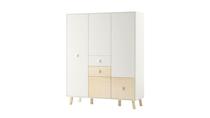 Armoire Alice 3 avec tiroirs pour chambre d'enfant