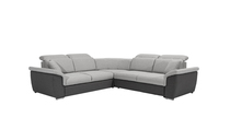 Grand canapé d'angle convertible Fabio